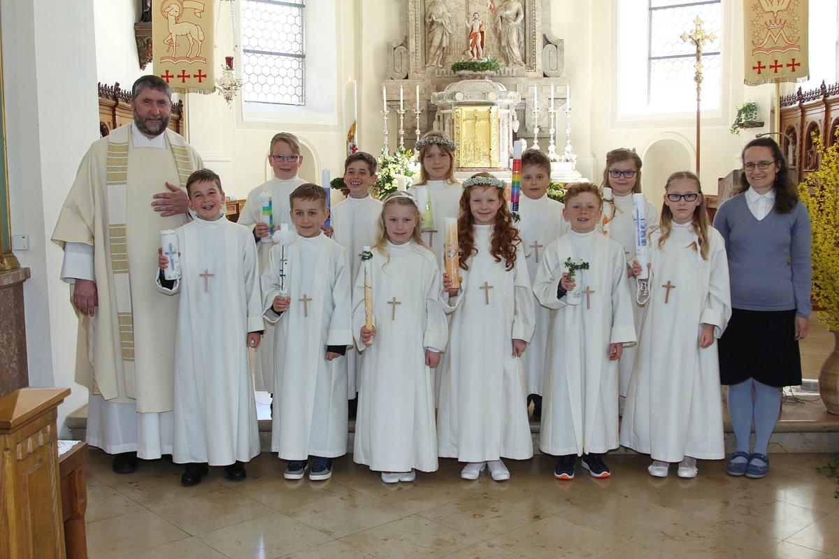 Seelsorgeeinheit Am Dreifaltigkeitsberg Erstkommunion